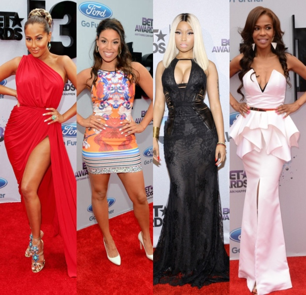Adrienne Bailon, Jordin Sparks, Nicki Minaj, Michelle Williams